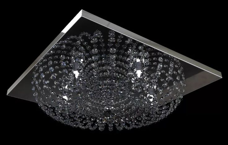 lustre plafon cristal egipcio asfour italiano 960/23 new