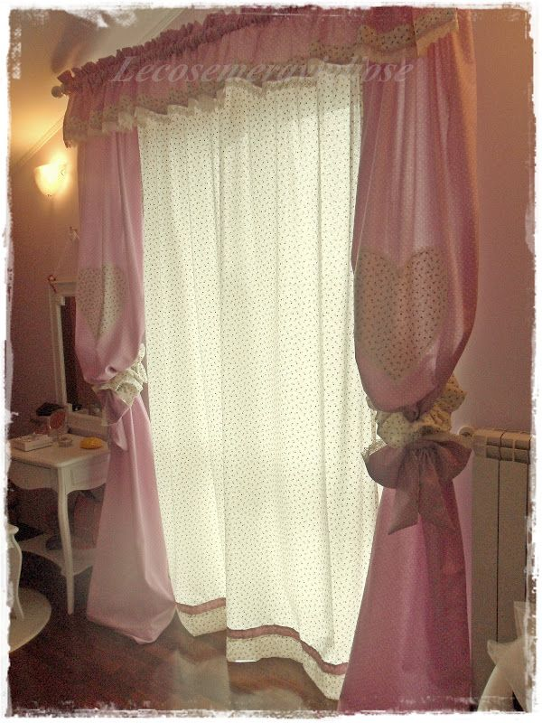 Tende shabby chic cucina cerca con google tendaggi particolari curtains window treatments - Tende shabby chic cucina ...
