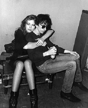 Bebe Buell and Stiv Bators
