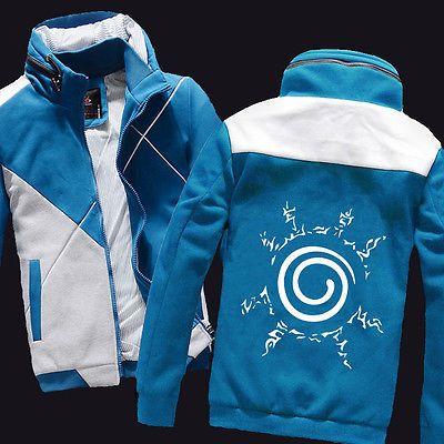 Anime NARUTO Uzumaki Naruto Clothing Sweatshirt Casual Jacket Hoodie M to XXL