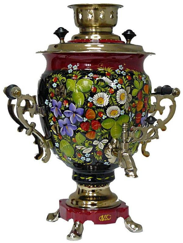 Russian samovar - русский самовар