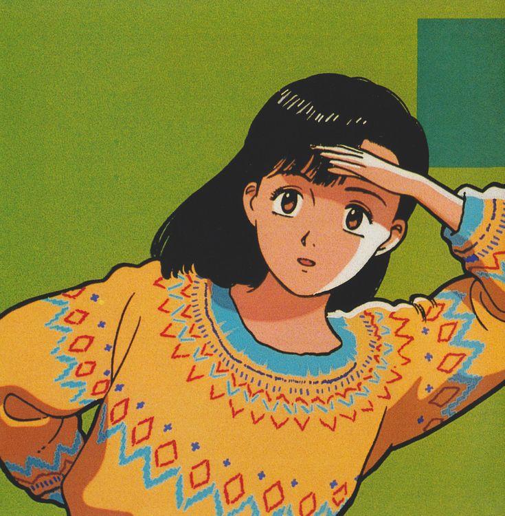 YAWARA! 江口寿史 イラスト, かわいいイラスト, アニメ 懐かしい