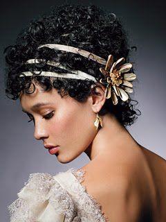 penteados vitorianos para cabelos crespos - Pesquisa Google