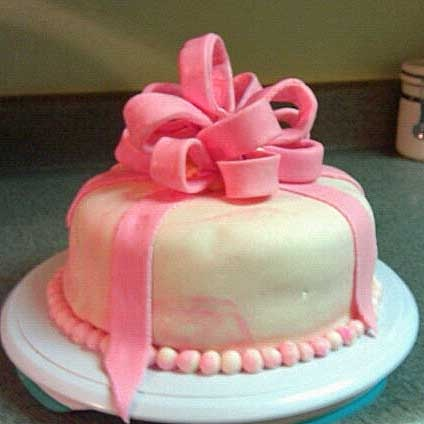 Fondant Cake Designs For Baby Girl : 183 best images about Baby Shower Cakes on Pinterest ...