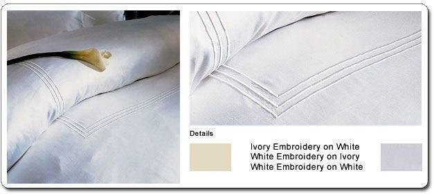 Versai Luxury Bedding/Fine Linens from Italy. 100% Egyptian Cotton Sheet Sets #Versai #Lara