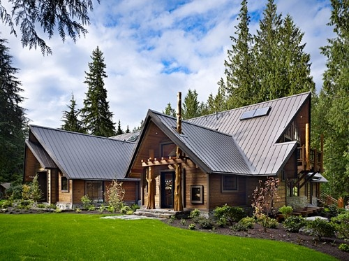Mountain Homes: Big Design for Majestic Places