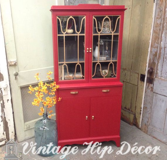 Best 25 Small China Cabinet Ideas On Pinterest: Best 25+ Red Hutch Ideas On Pinterest