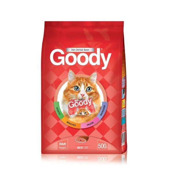 Goody Etli Yetişkin Kedi Kuru Maması