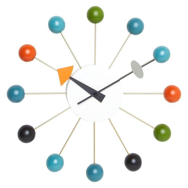 Vitra Ball Wall Clock, Dia.33cm