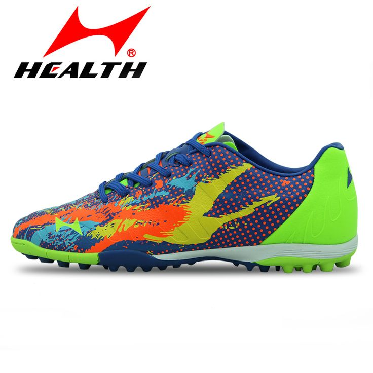 Health top soccer shoes kids football boots cleats futsal shoes adult child crushed breathable sport football shoes plus 36-45 #Affiliate