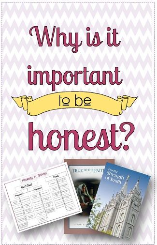 Great article and teaching ideas about honesty. Finally some help with my lesson for this week.