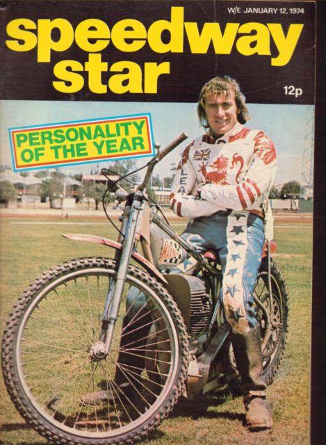 SPEEDWAY STAR MAGAZINE 12 JAN 1974 PETER COLLINS DOUG TEMPLETON | eBay