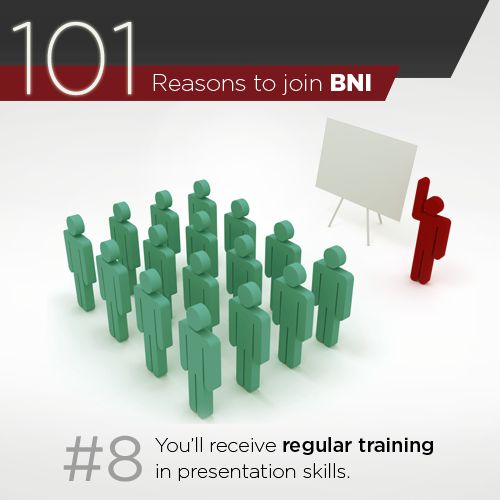 25 best 101 reasons to join bni images on pinterest | join, Presentation templates
