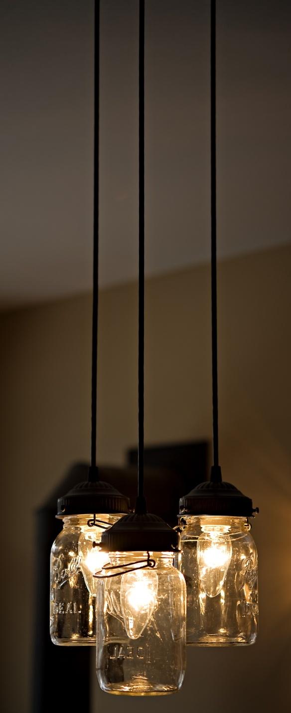 206 best mason jar light fixtures images on pinterest garden our sweet mason jar chandelier made by etsyshoplampgoods arubaitofo Images