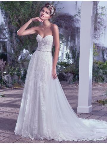 abiti da sposa da sposa in pizzo da giardino