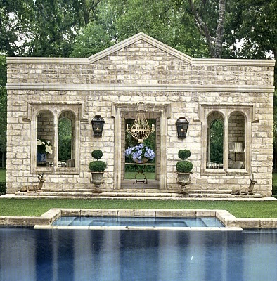 pool and outbuilding: Pools Area, Small Pools, Outdoor Rooms, Outdoor Living, Pools Houses, Hot Tubs, Outdoor Spaces, Outdoor Pools, Verandas Magazines