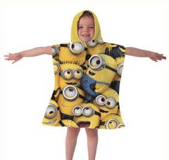 DESPICABLE ME ~ All Over Print Hooded Towel