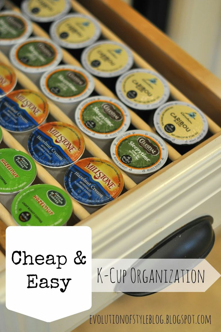 Evolution of Style Cheap  Easy KCup Organization