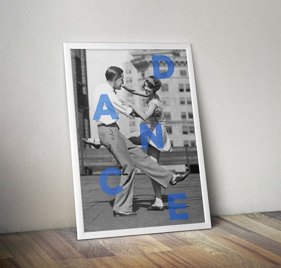 Dance ' Poster by Hoagard on Etsy