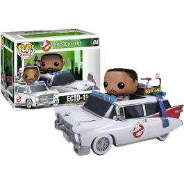 Ghostbusters - Winston Zeddemore in Ecto-1 Car Pop! Ride Vinyl Figure (RS)