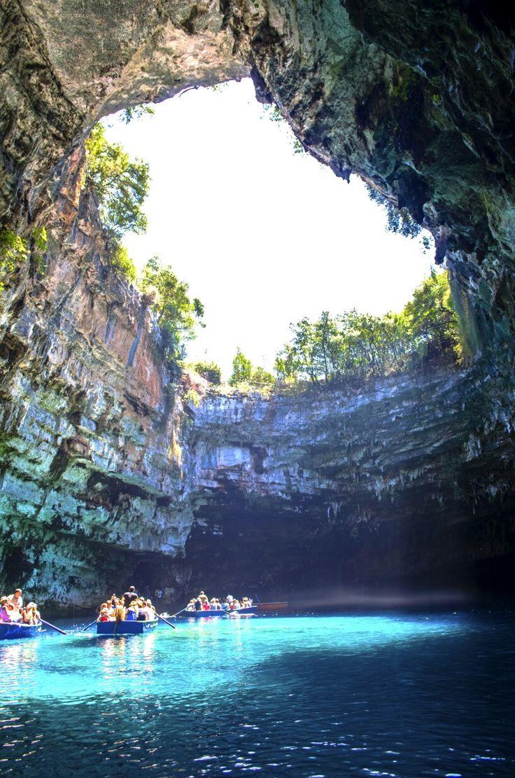 Melisani Cave, Kefalonia, Greece