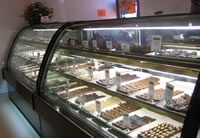 BLUE MOUNTAINS CHOCOLATE COMPANY, KATOOMBA. Great for morning tea of hot chocolate.