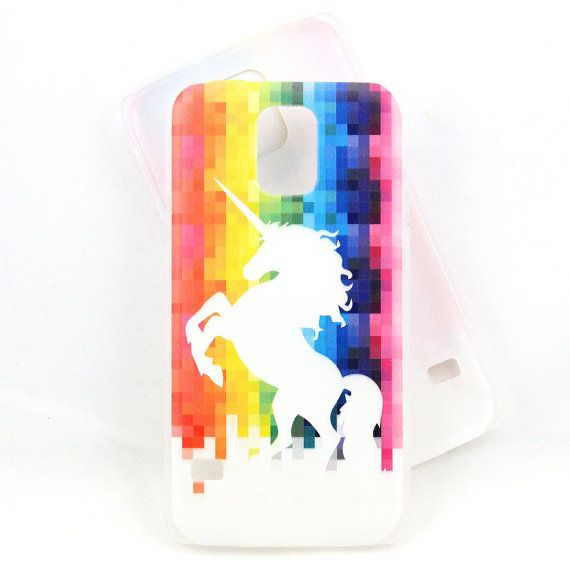 Unicorn Rainbow case for Samsung Galaxy S4/S5 phone ...