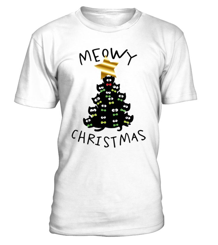 Merry Christmas Tree Black Cat Lover, Cat lover Christmas T-shirt, Funny Christmas Gift. Merry Christmas, Ugly Sweater, cat lover, Christmas fun, Cat Lady , Christmas Gift,ugly Christmas sweater, Christmas t shirt. The perfect Christmas tree is one made of furry cats and kittens. All I want for Christmas this year is a cat...or a bunch of cats because I'm a crazy cat person. Do you love Christmas? Favorite holiday of the year? Love Christmas trees, lights. ...