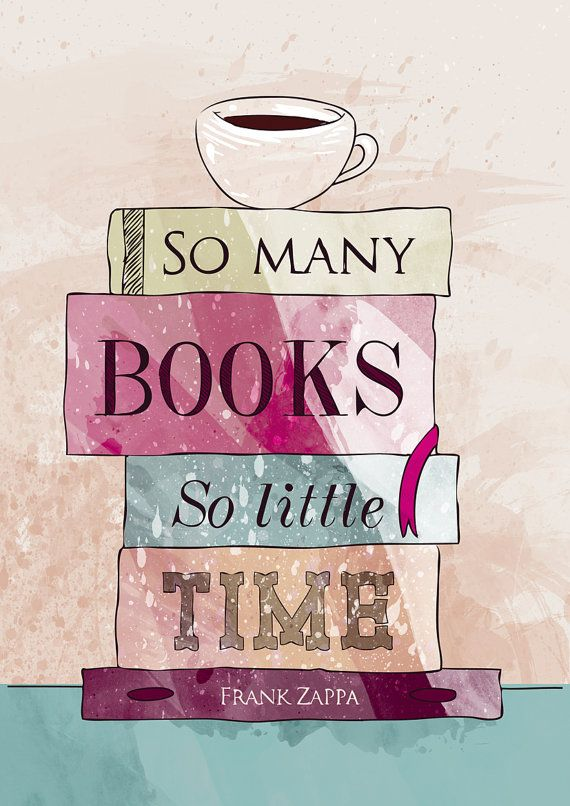 So many books so little time!