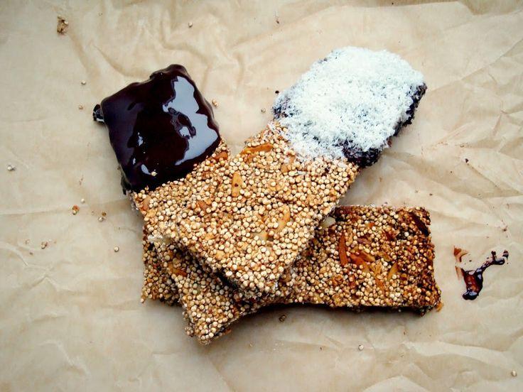 Quinoa Muesliriegel