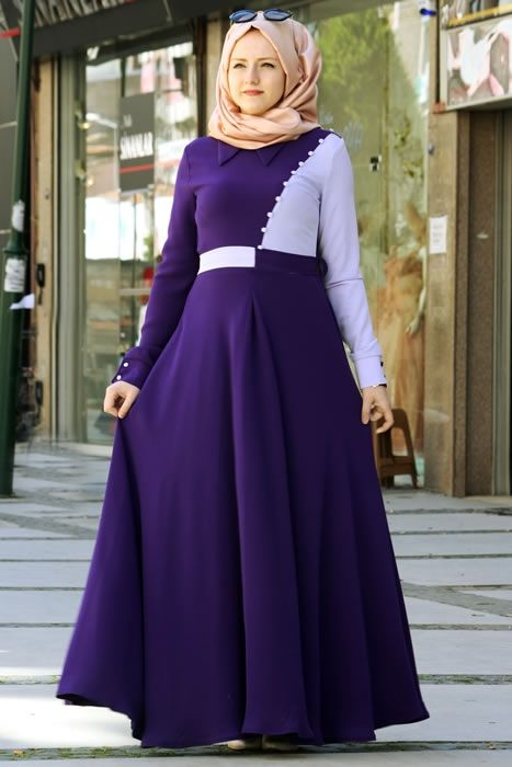 Nur Banu Mor Arya Elbise