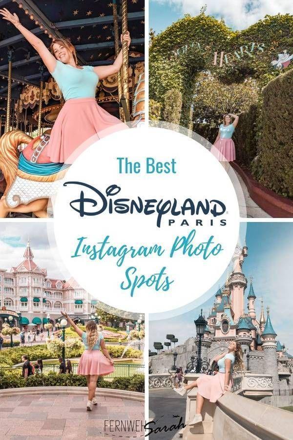 Instagrammable Disneyland Paris Photo Spots + Disneyland Hashtags!