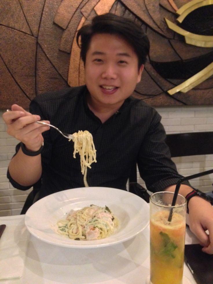 Victor Adiguna, I am a spaghetti lover.