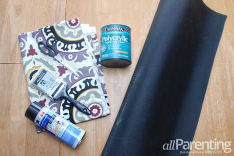 Fabric rug materials
