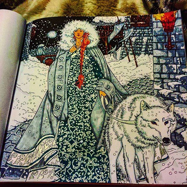 Gameofthronescoloringbook On Instagram Harry Potter TheatreColouring Book GamesChanceGame Of ThronesAdult