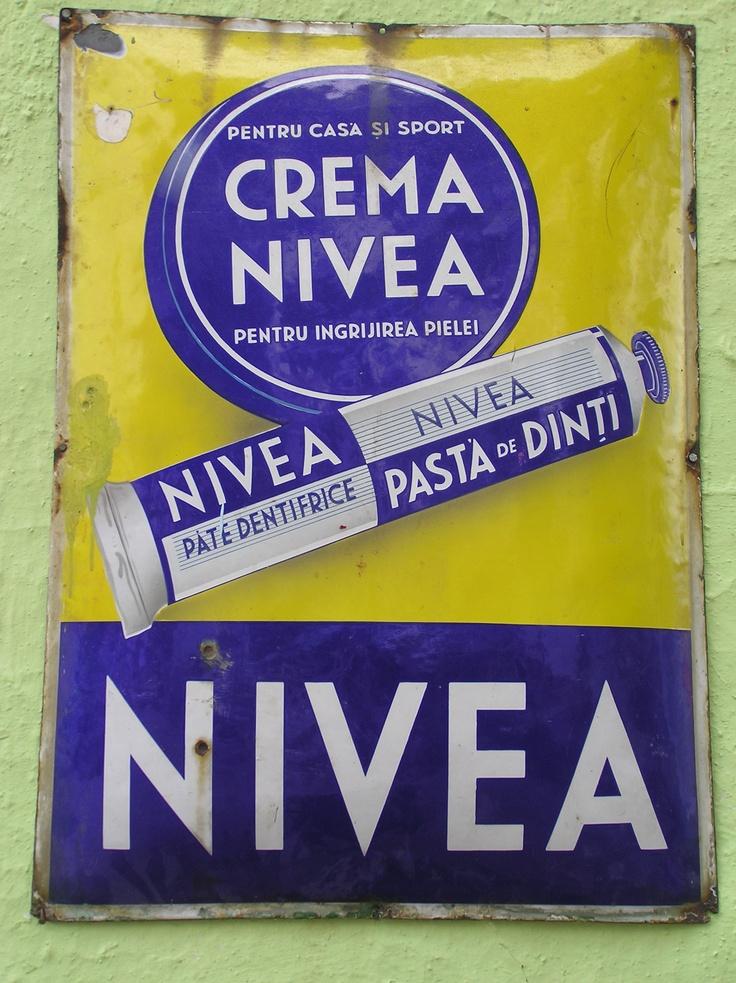 Nivea Vintage Poster, Crete, Greece