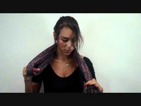 Come fare il nodo alla sciarpa? Ecco 10 modi per annodarla