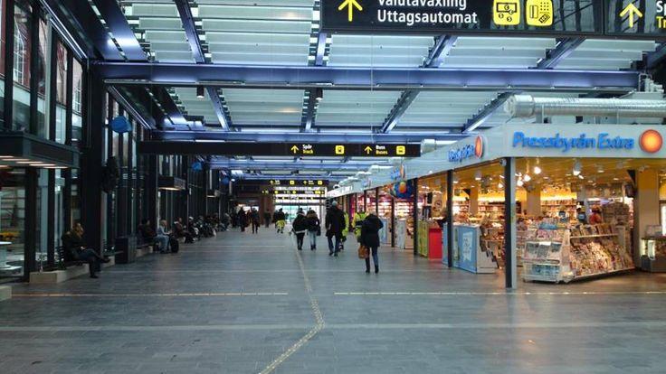 Floor slate tiles SAMACA #Malmo #Central #Station #Sweden
