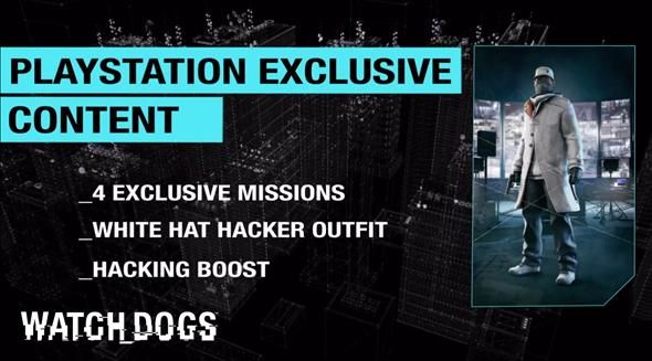 *WATCH* PlayStation Owners Are Getting Exclusive Watch_Dogs Content