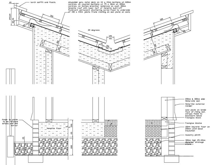 Butterfly Roof Construction Detail Drawings Pinterest