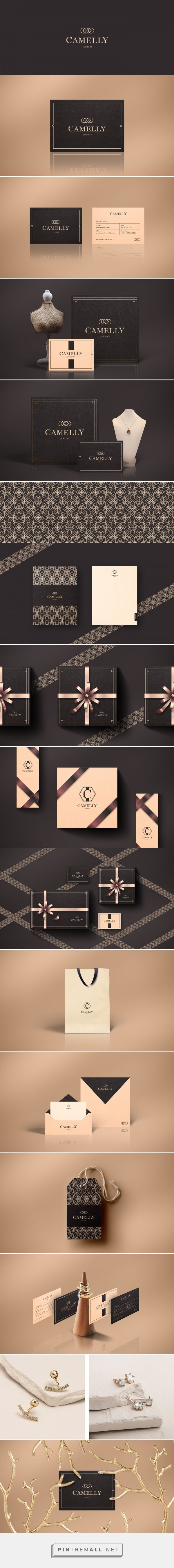 Camelly Jewelry Branding and Packaging by Choi Hwanie | Fivestar Branding Agency – Design and Branding Agency & Curated Inspiration Gallery