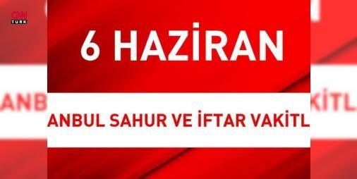 İstanbul sahur 'imsak' - İstanbul iftar vakti | 6 #Haziran İstanbul hava durumu: İstanbul'da sahur 'imsak', İstanbul iftar vakti üzerinden Müslümanlar saat kaçta sahura kalkacak, kaçta oruçlarını açacaklar sorusuna Diyanet İşleri Başkanlığı cevaplıyor. #Salı günü hava sıcaklığı nasıl olacak? Meteoroloji'den alınan son bilgilere göre, yarın hava parçalı bulutlu olurken, sıcaklık ##pazartesi gününe oranla 2 derece artıyor, nem oranında düşüş meydana geliyor. Diyanet İşleri Başkanlığının ve…