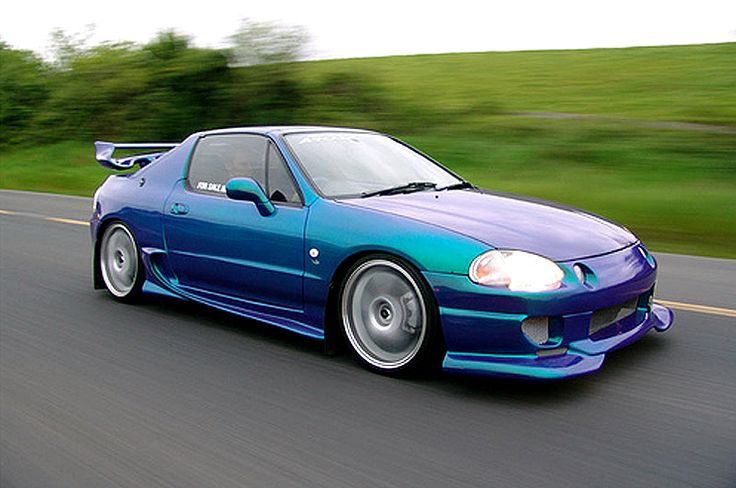 Honda Del Sol. Not quite a convertible, but who really needs one with weather like Ohio's?