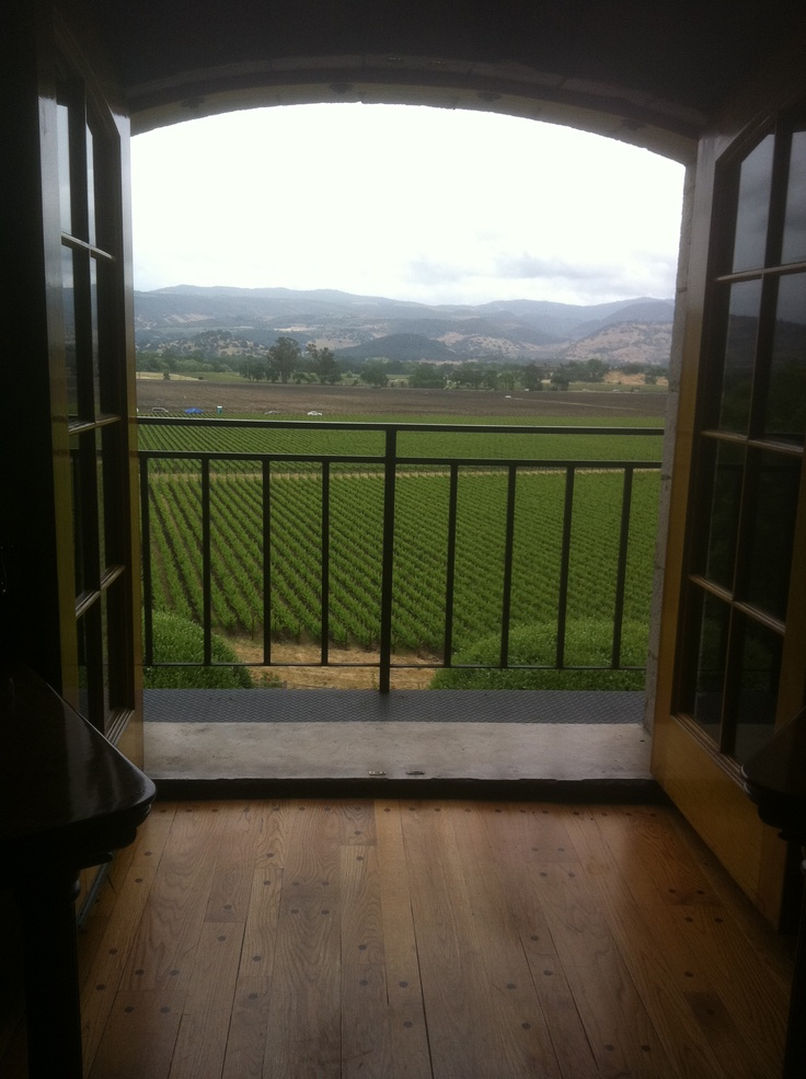 Napa Valley.  Stayed a the wonderful Meadowood Resort and Spa.  I can still taste the wine!