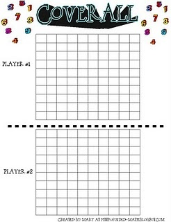 Coverall multiplication game - 2 players take turns - roll 2 dice and multiply those 2 numbers then color in the same number of squares as your product - first to cover all of the squares wins.  This blog also has a variation of snake for multiplication!