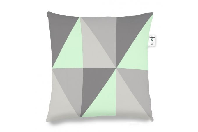 big triangles green by steli