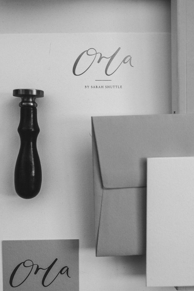 Orla by Sarah Shuttle design studio - brand styling, web design and brand photography. Custom website design, custom brand stationery, printed brand materials, luxury stationery, UK-based brand designer, feminine branding, luxury branding, female entrepreneur, personal branding, personal brand shoot, headshot inspiration, brand shoot inspiration, wedding business branding, brand style, brand board, business tips, brand design