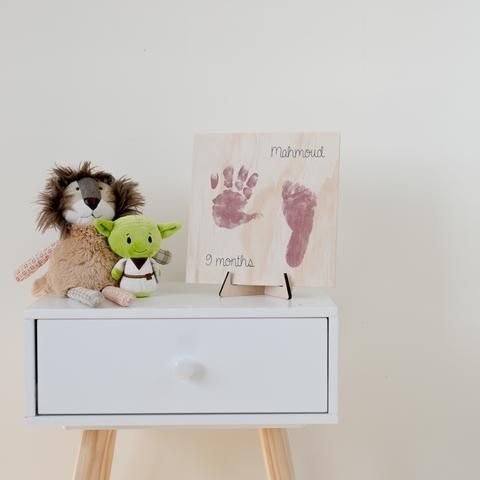 Baby Feet + Name Set