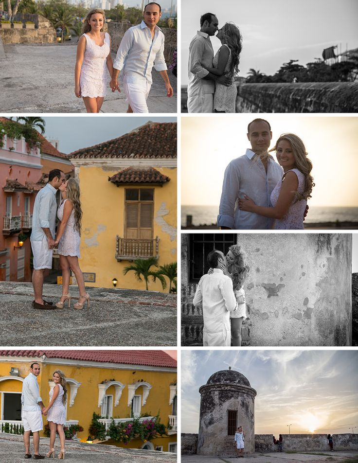 Engagement Session in Cartagena, Colombia. Photo by Lagus Media - Event Photography. www.lagusmedia.com