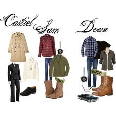 "dean winchester outfit girl | Supernatural Outfits For Girls"" by mgzzy on Polyvore"